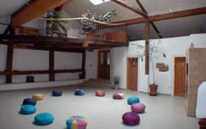 Der große Seminarraum im Knaubenhof