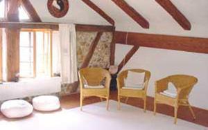 Der kleine Seminarraum im Knaubenhof